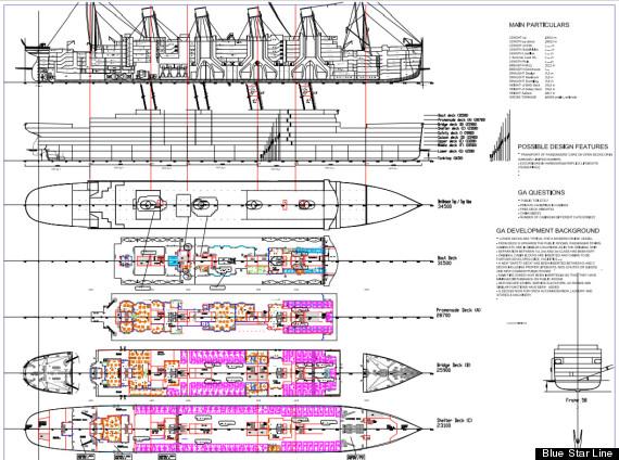 Preliminary Plans for Titanic 2 Revealed | Crew Center