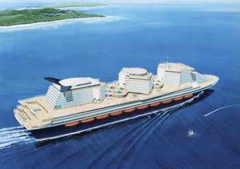 The World's Largest Passenger Ship Project in Question due to