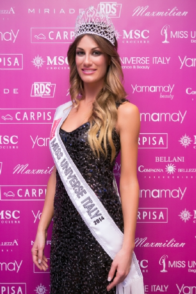 Miss Universe Italy 2014 Crowning Moment on Cruise Ship