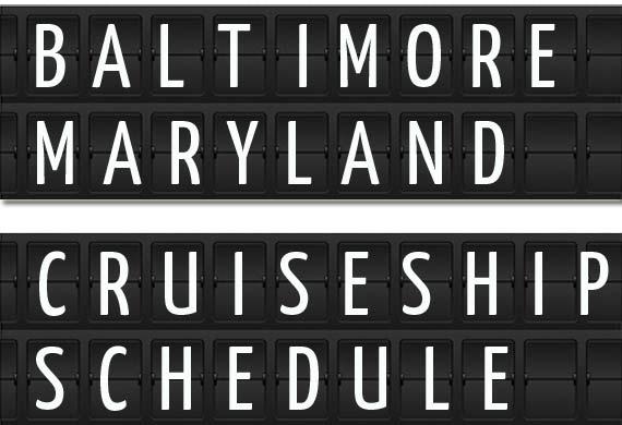 Cruise From Baltimore 2020.Baltimore Maryland Cruise Ship Schedule 2020 Crew Center