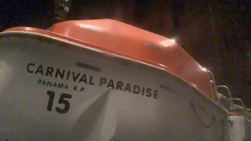 Carnival Paradise Rescues Sailors From Sinking Ship | Crew Center