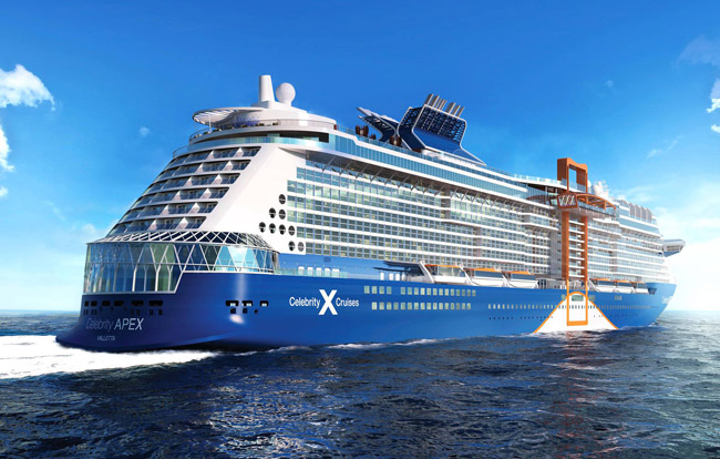 Celebrity Apex to start cruises from Greece in June | Crew Center
