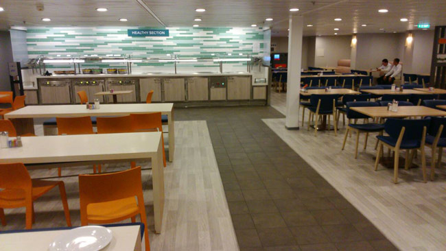 Celebrity Cruises Crew Mess Cafe 365