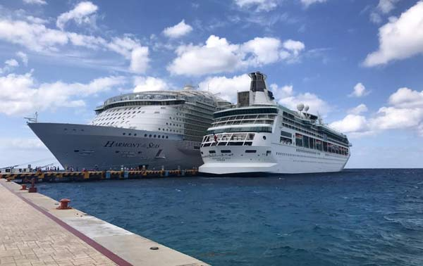 Cozumel Mexico Cruise Schedule January April Crew Center - Cozumel cruise ship schedule
