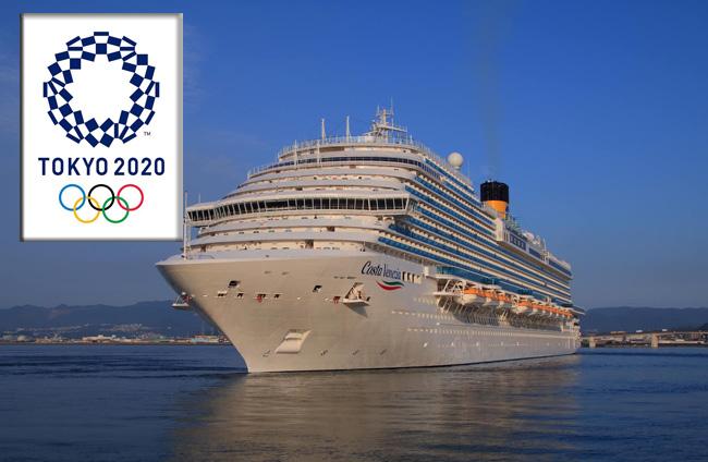 2020 Winter Olympics Hotels.Costa Venezia To Serve As Hotel Ship For Tokyo 2020 Olympics