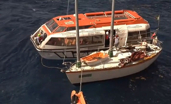 Christmas Miracle Celebrity Summit Crew Rescues Stranded Sailors - Summit cruise ship