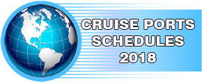 Banner for Cruise Ships Schedules by Ports