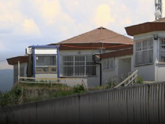 Detention center for refugees in Skopje, Macedonia