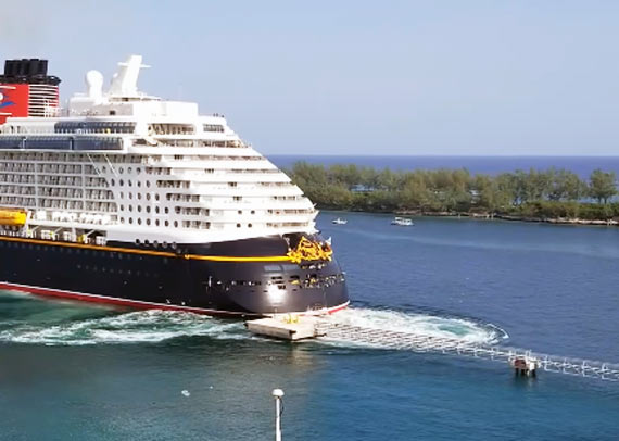 Cruise Accidents Crew Center - Cruise ship damaged