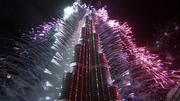 Dubai NYE fireworks