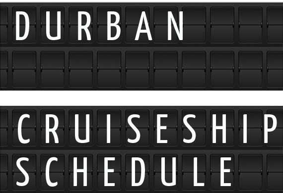 Durban South Africa Cruise Ship Schedule 2018 Crew Center