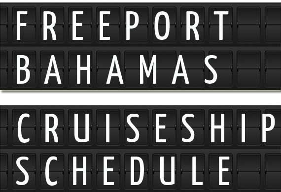 Freeport The Bahamas Cruise Ship Schedule January To June