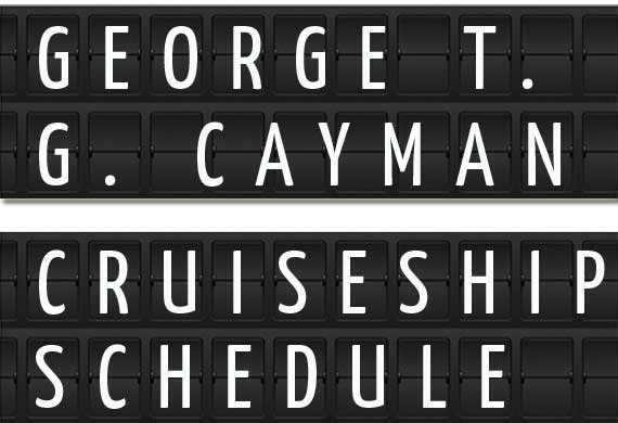 George Town Cruise Ship Schedule Crew Center - Cruise ship schedule for grand cayman