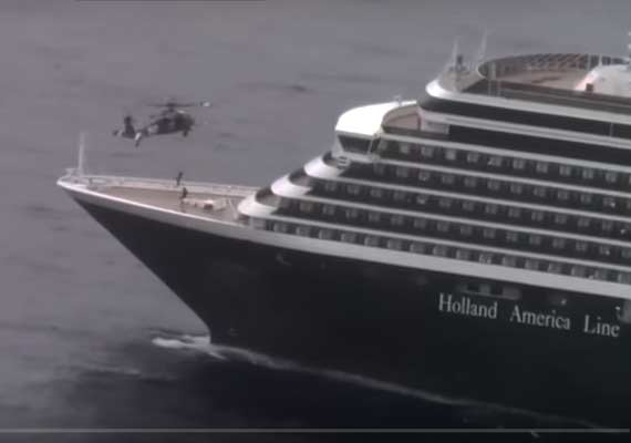 Extreme Rescue From A Holland America Line Cruise Ship By A - Cruise ship rescue