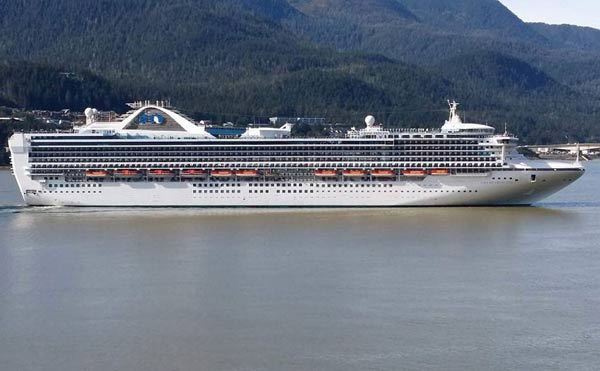 Island Princess Crew Members Arrested For Drugs In Vancouver - How many crew members on a cruise ship