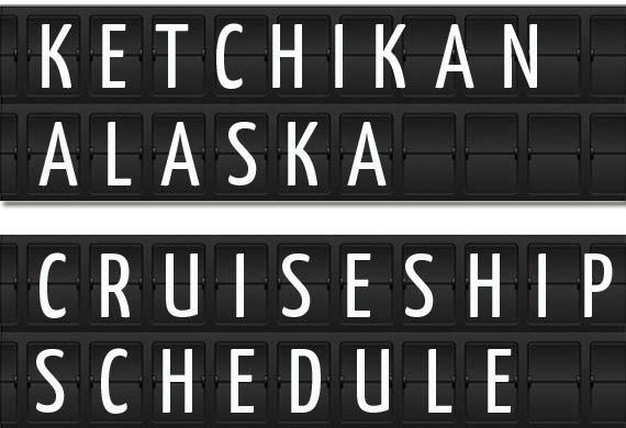 Ketchikan Alaska Cruise Port Schedule April July 2018