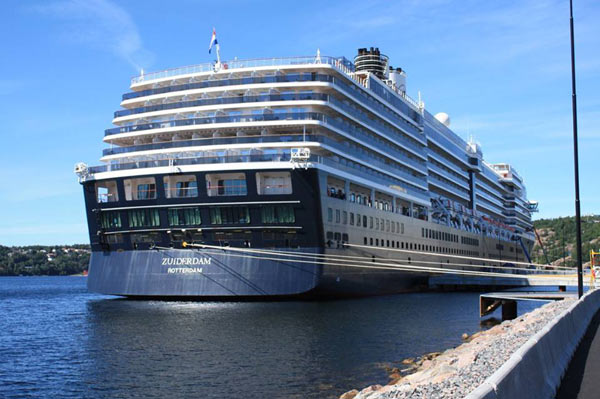 kristiansand norway cruise port