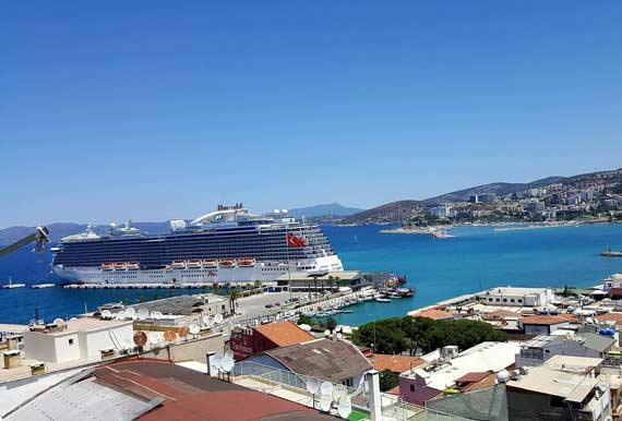 Kusadasi ephesus turkey cruise ship schedule 2018 crew center - Ephesus turkey cruise port ...