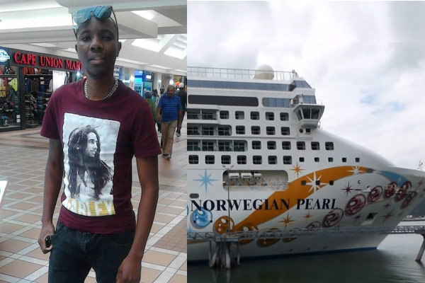 Lloyd Takana crew member missing on the Norwegian Cruise Line cruise ship Norwegian Pearl.