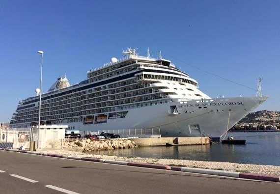 aankomst cruiseschepen rotterdam 2016