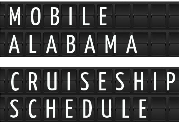 Mobile Alabama Cruise Ship Schedule Crew Center - Mobile cruises