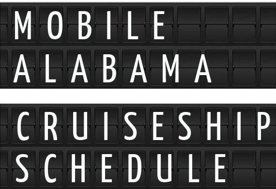 Mobile Alabama Cruise Ship Schedule Crew Center - Cruise ship mobile alabama