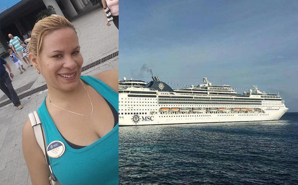 MSC Opera crew member missing in George Town