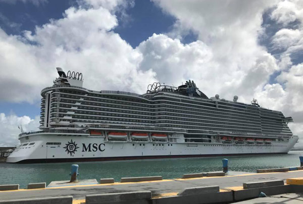 msc seaside in Port Miami