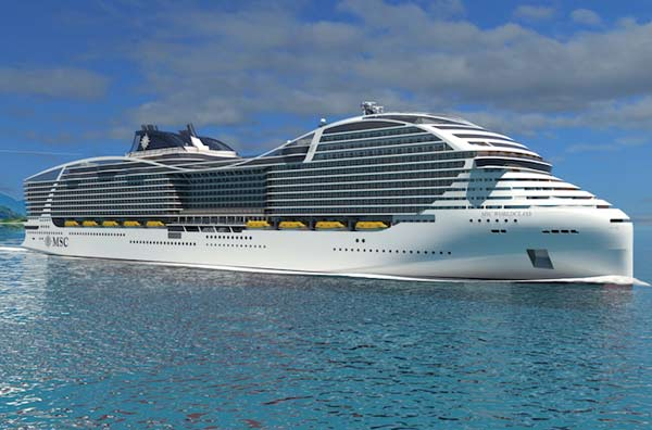 MSC World Class To Rival Royal Caribbean Oasis Cruise Ships Crew - Cruise ship caribbean