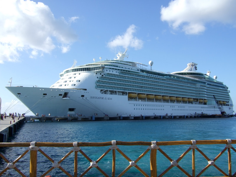 Navigator of the seas at port