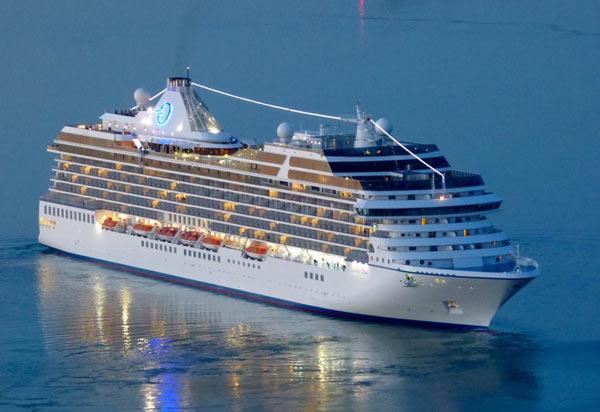 Oceania Marina Itinerary Crew Center - Cruise ship staff quarters