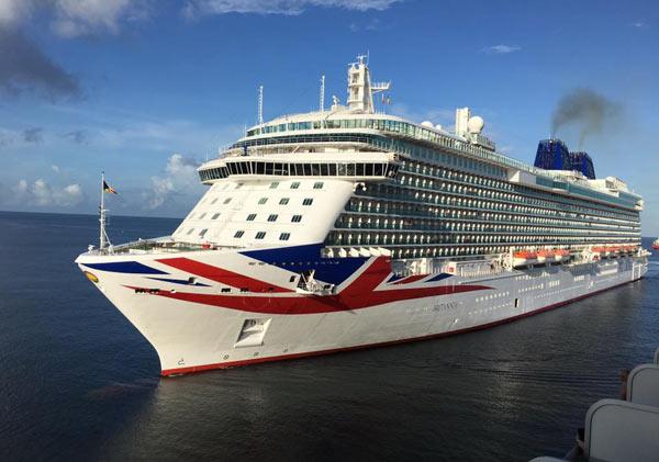 PO Britannia Itinerary Crew Center - Britannia cruise ship