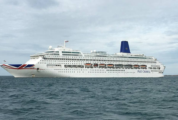 PO Oriana Itinerary Crew Center - Cruise ship movements sydney harbour