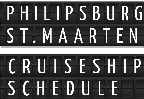 Philipsburg St Maarten Cruise Ship Schedule Crew Center - Long beach cruise ship calendar