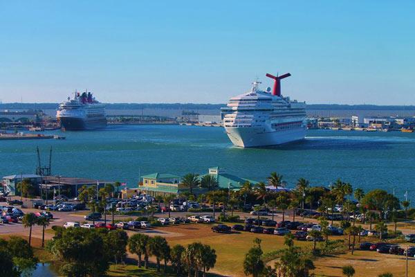 Port Canaveral  Orlando Cruise Ship