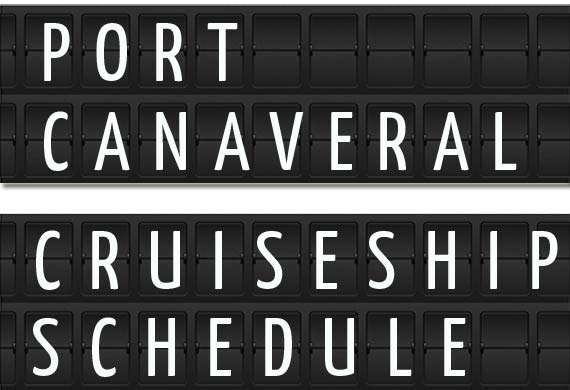 Port Canaveral Florida Cruise Ship Schedule Crew Center - Cape canaveral cruise ship schedule