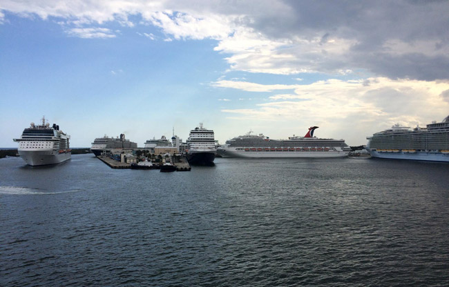 Fort Lauderdale Port Everglades Cruise Ships Schedule