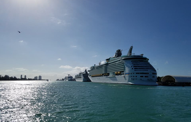 Cruise April 2020.Port Of Miami Cruise Ship Schedule January April 2020 Crew