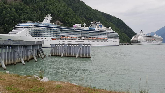 Cruise October 2020.Skagway Alaska Cruise Ship Schedule August October 2020