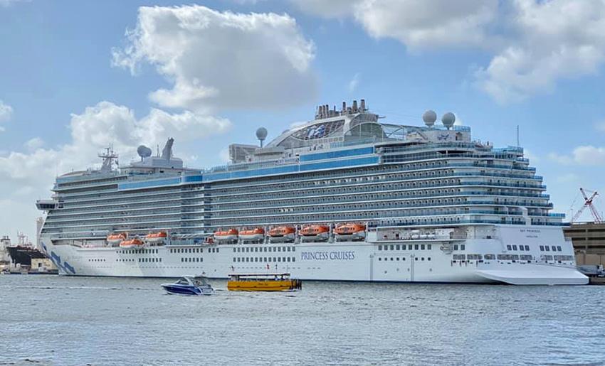 Sky Princess Cruise Itinerary 2021 And Sailing Calendar Crew Center