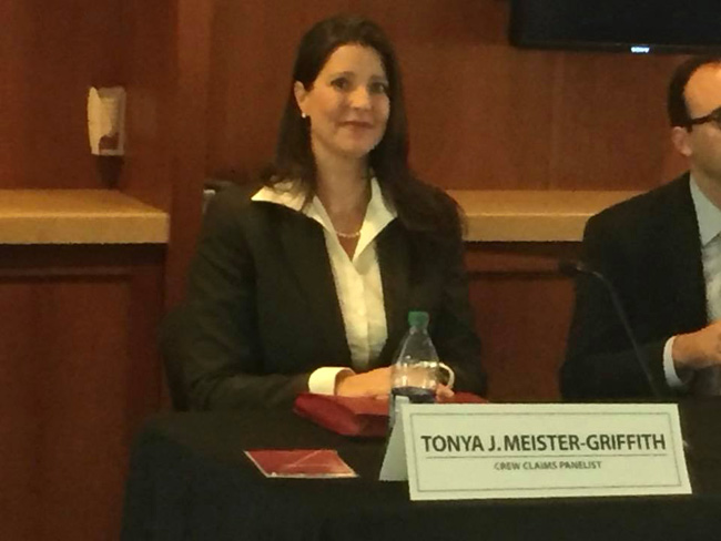 cruise ship maritime lawyer Tonya Meister