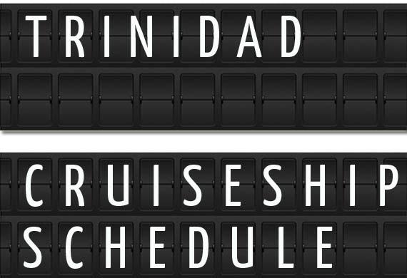 Trinidad Cruise Ship Schedule 2018 | Crew Center