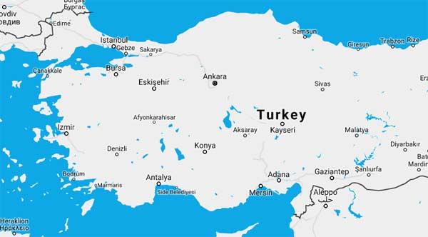 Turkey Ports Cruise Ships Schedules 2019
