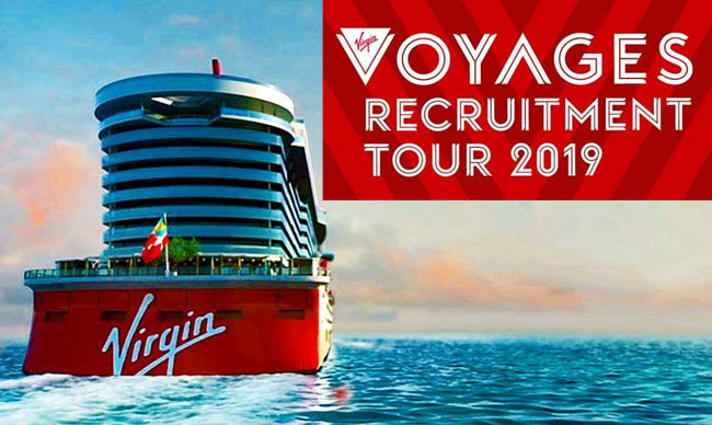 Virgin Voyages Announces Official Hiring Partners and Global