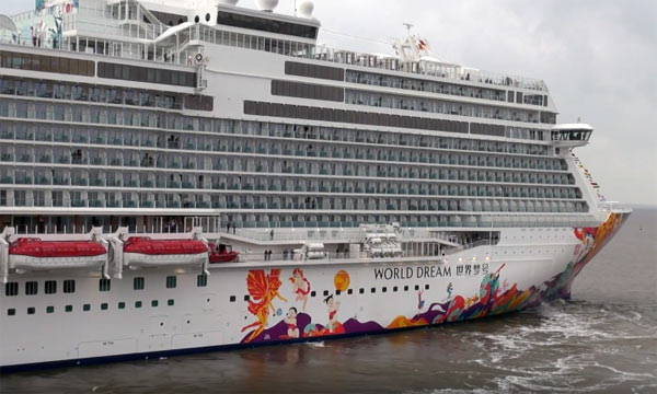 Meyer Werft Delivers Giant Cruise Ship To Dream Cruises Crew Center - Building a cruise ship