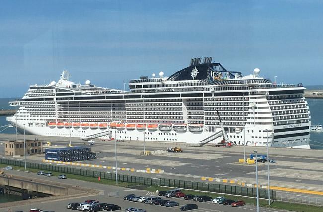 Zeebrugge Bruges Provides Cruise Ships Port Schedule 2020 Crew Center