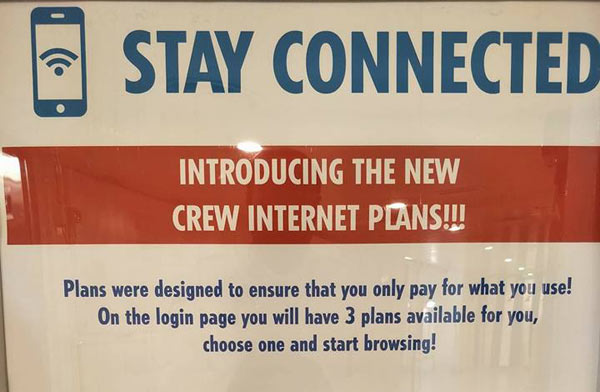 Carnival Cruise Internet >> Carnival Cruise Line Introduces New Crew Internet Plans