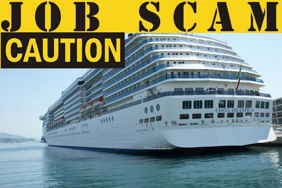 Cruise Ship Job Scam Warning | Crew Center