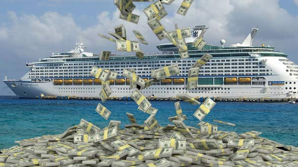 How much money the biggest cruise companies make every