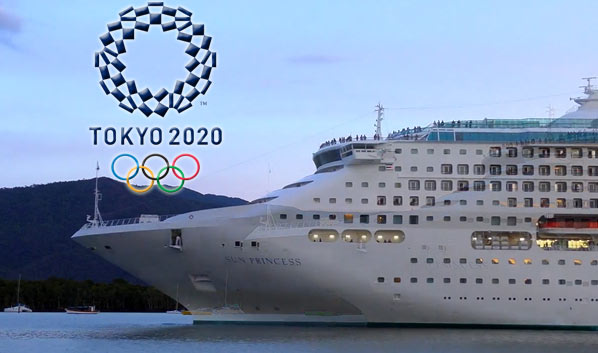 Sun Princess cruise ship Olympic game Tokyo